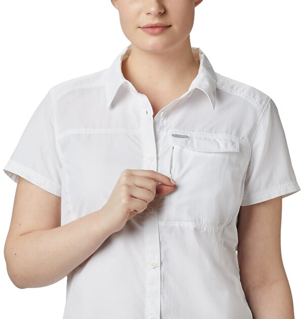 Silver Ridge™ 2.0 Kısa Kollu Kadın Gömlek