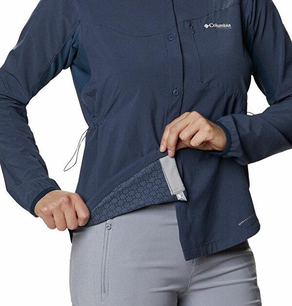 W Mazama Trail Woven LS Kadın Gömlek