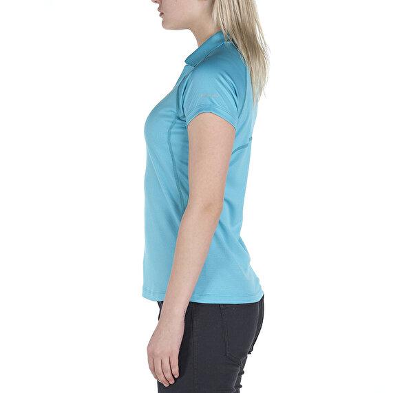 Cool News Kısa Kollu Kadın Polo T-shirt