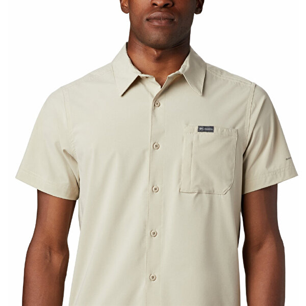 Triple Canyon Solid Kısa Kollu Erkek Gömlek
