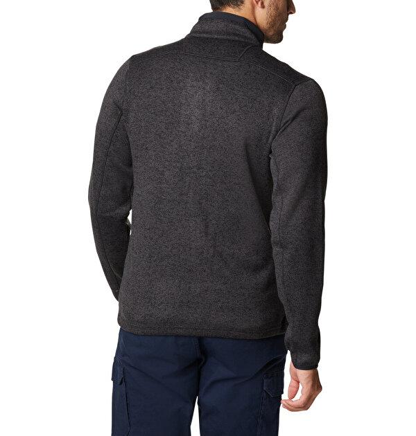 Sweater Weather™ Erkek Tam Fermuarlı Polar Üst