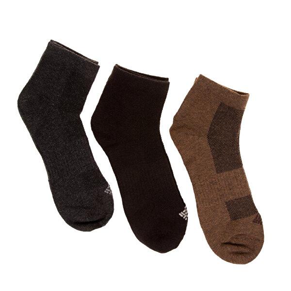 Columbia Quarter Top Mesh 3Lü Unisex Çorap