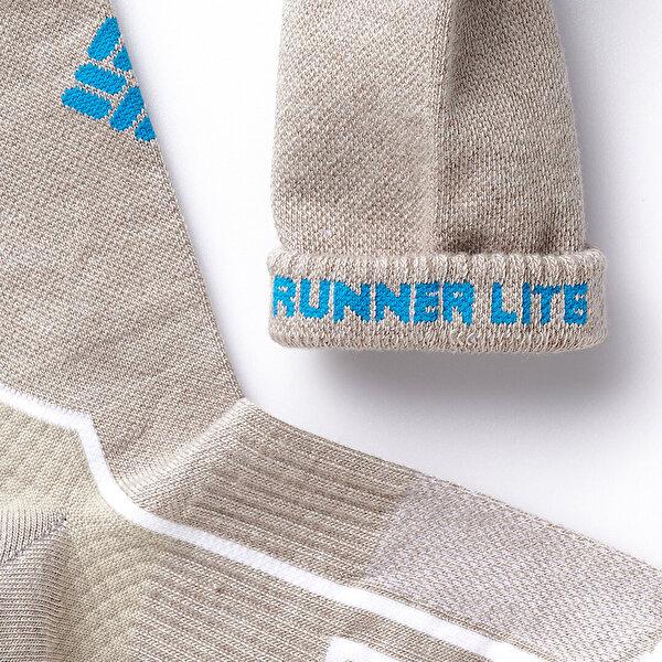 Trail Running Light Quarter Unisex Çorap