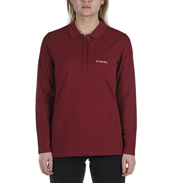 W Cascade Range Solid LS Kadın Polo T-shirt