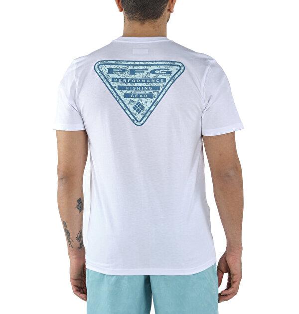 PFG Triangle Print Graphic Kısa Kollu Erkek T-shirt