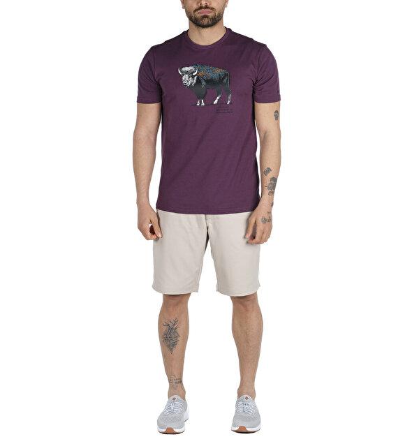 Range Roam Pattern Graphic Kısa Kollu Erkek T-shirt