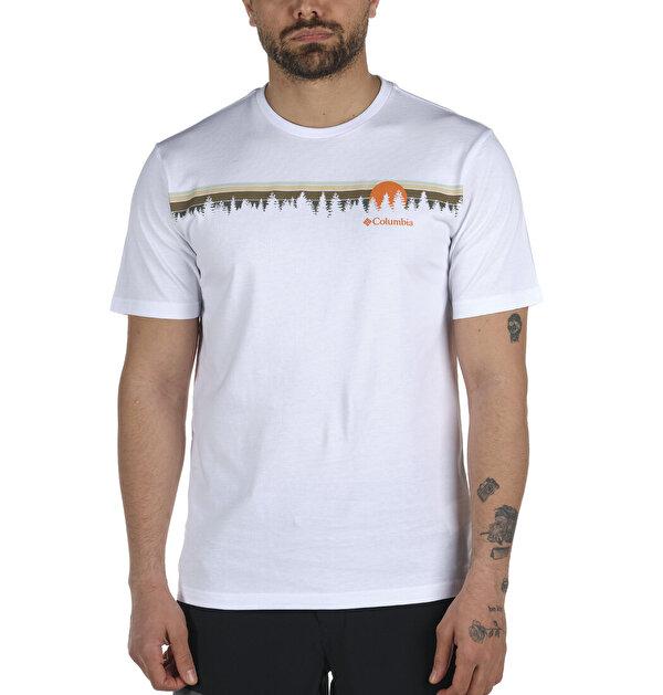 Solar Treeline Graphic Kısa Kollu Erkek T-shirt