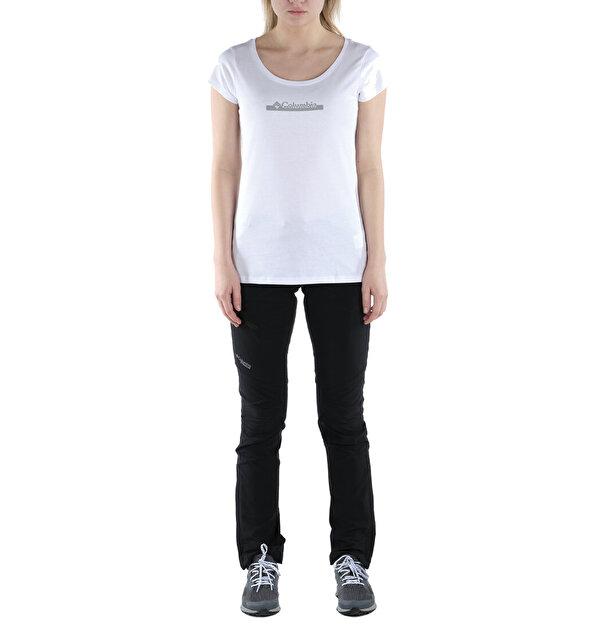 CSC W Bar Split Graphic Kısa Kollu Kadın T-shirt
