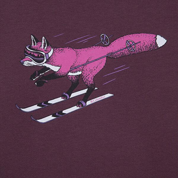 Y Foxy Downhill Graphic Uzun Kollu Çocuk T-shirt