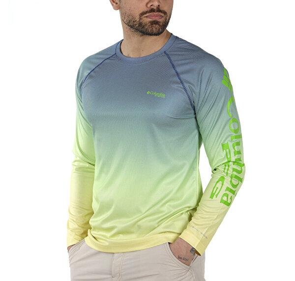 Solar Shade Printed Uzun Kollu Erkek T-shirt