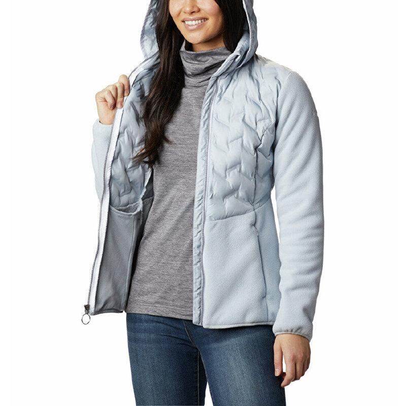 Delta Ridge Hybrid Fleece FZ Kadın Polar