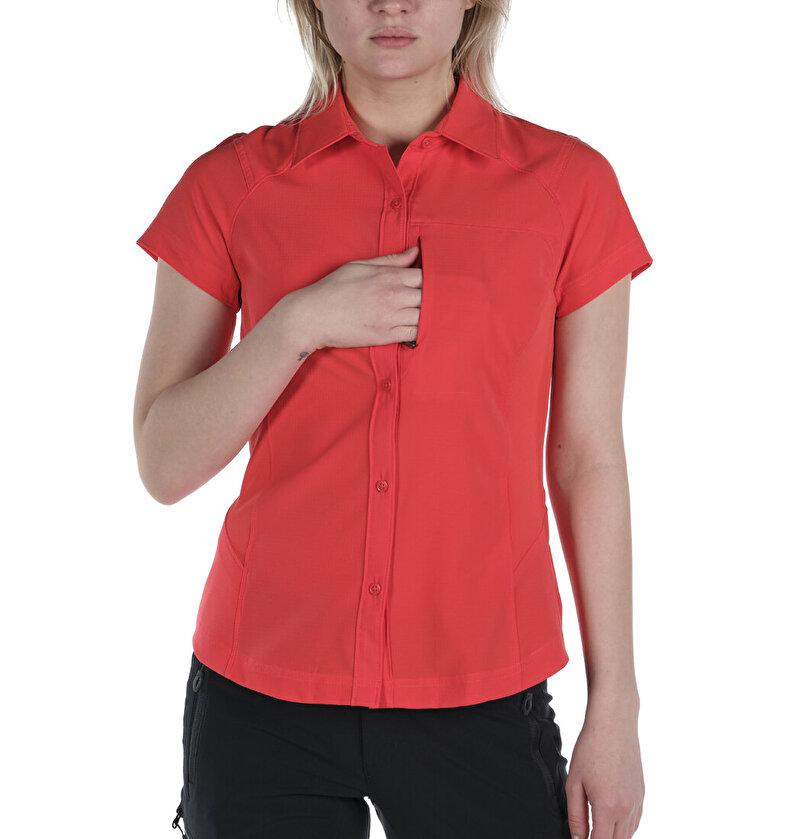 Silver Ridge™ Kısa Kollu Kadın Gömlek