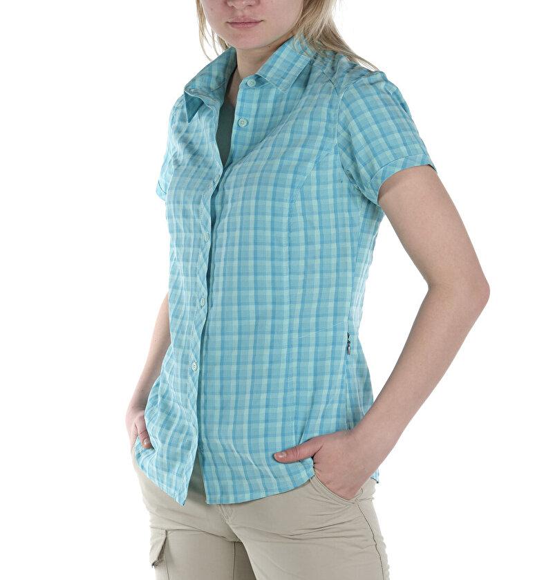 Surviv-Elle II Kısa Kollu Kadın Gömlek