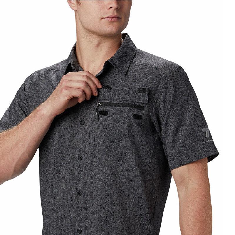 irico™ Mens Kısa Kollu Erkek Gömlek