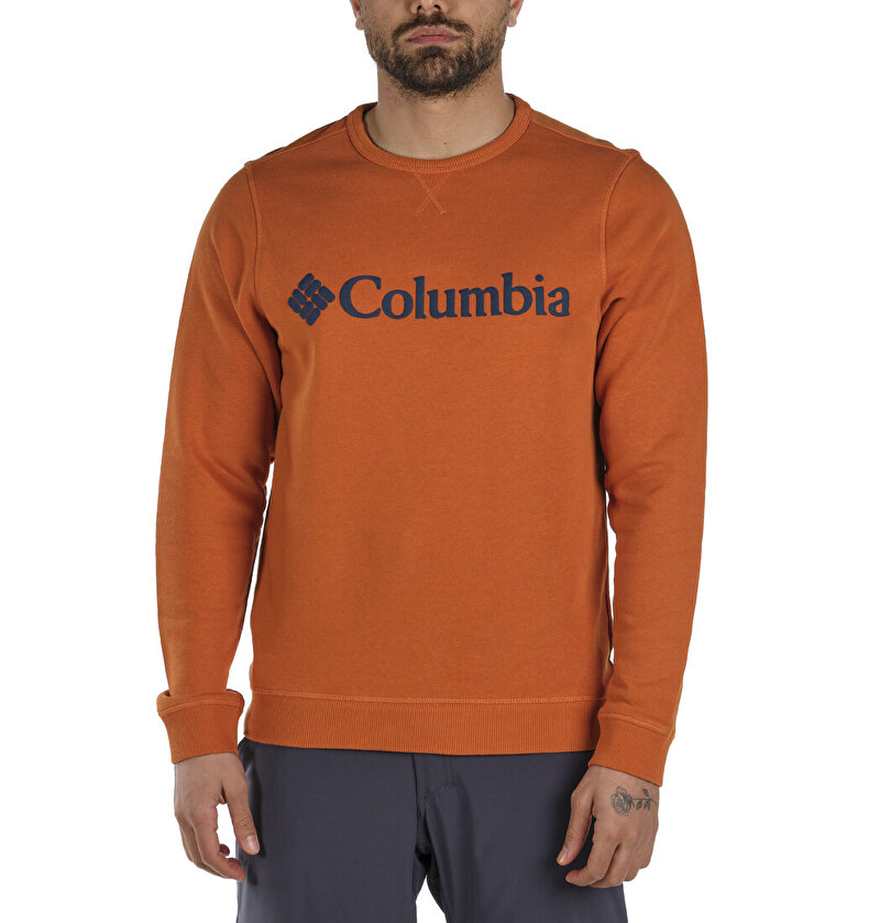 M Columbia Logo Erkek Sweatshirt