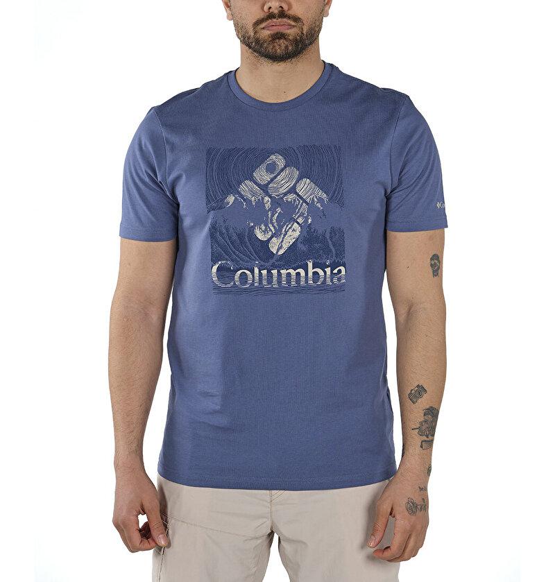 Basin Butte Graphic Kısa Kollu Erkek T-shirt