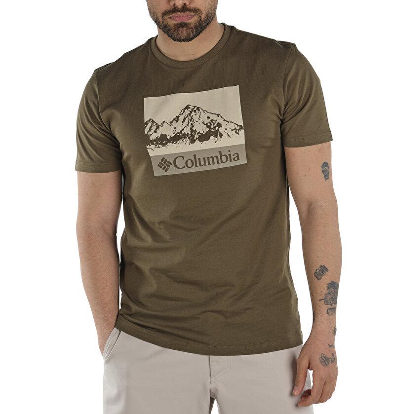 Hart Mountain Graphic Kısa Kollu Erkek T-shirt