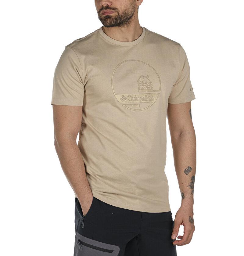 Outdoor Relief Graphic Kısa Kollu Erkek T-shirt