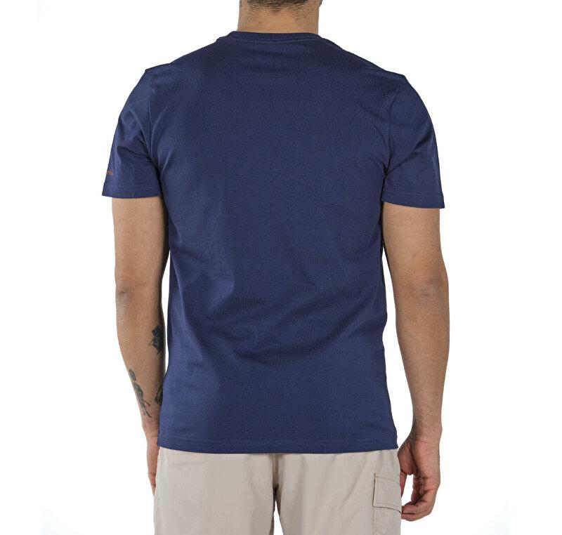 Hex Landscape Graphic Kısa Kollu Erkek T-shirt