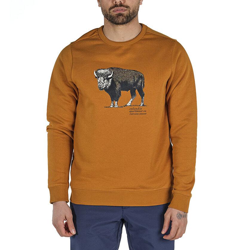 Check The Buffalo Bugasweat Crew II Erkek Sweatshirt
