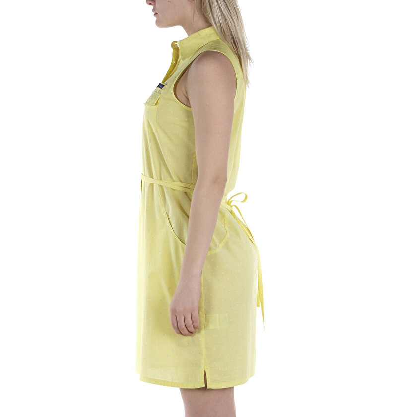 Super Bonehead™ II Sleeveless Kadın Elbise