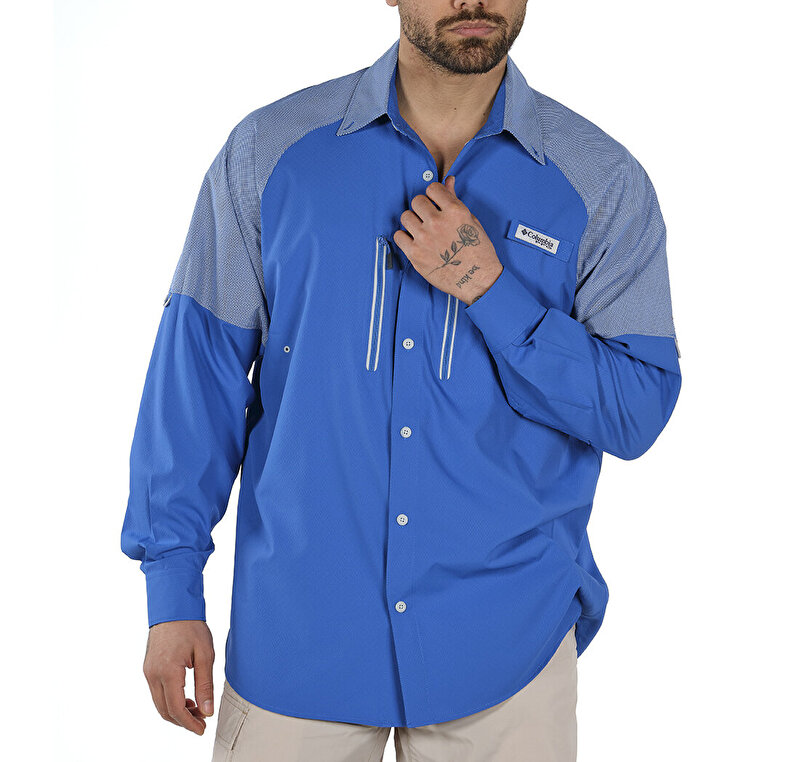 Solar Shade Zero Woven Uzun Kollu Erkek Gömlek
